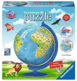 Ravensburger Children's World Globe 180pc 3D Puzzle
