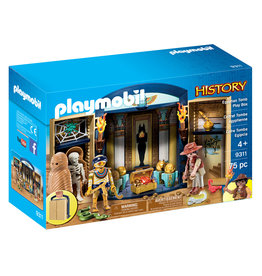 Playmobil Egyptian Tomb Play Box