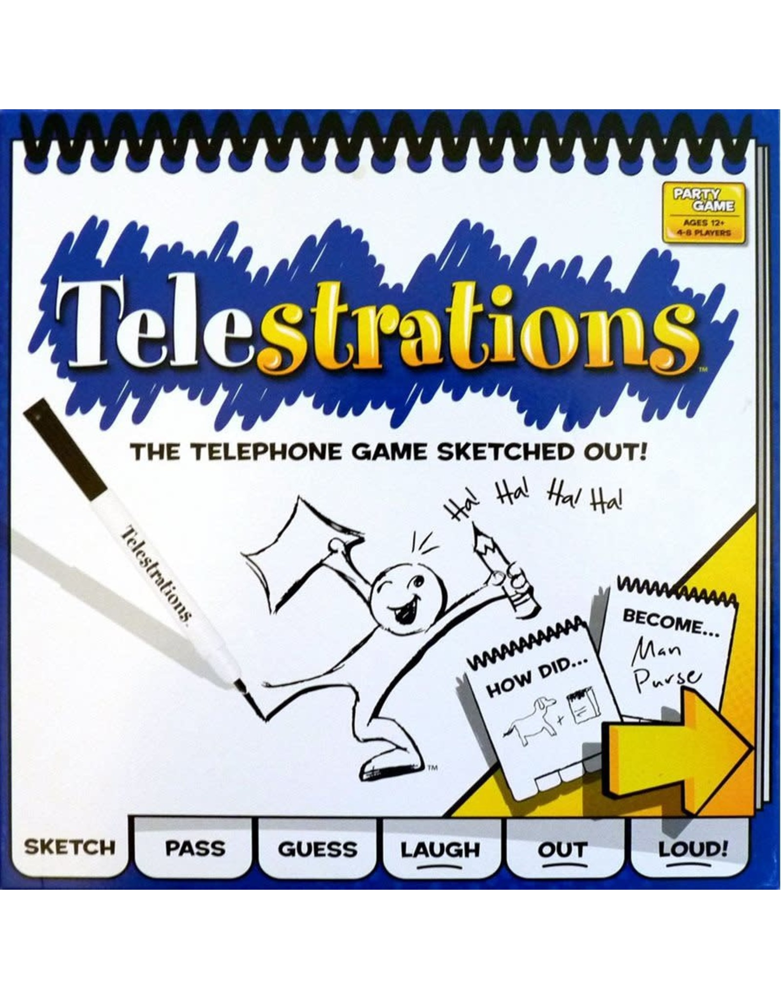 USAopoly Telestrations Original Game