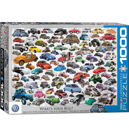Eurographics VW Beetle - What's Your Bug 1000pc Puzzle