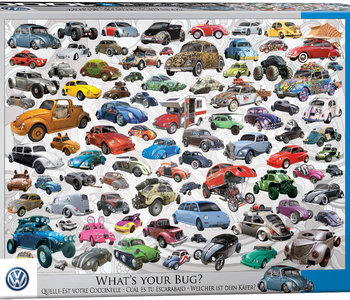 VW Beetle - What's Your Bug 1000pc Puzzle
