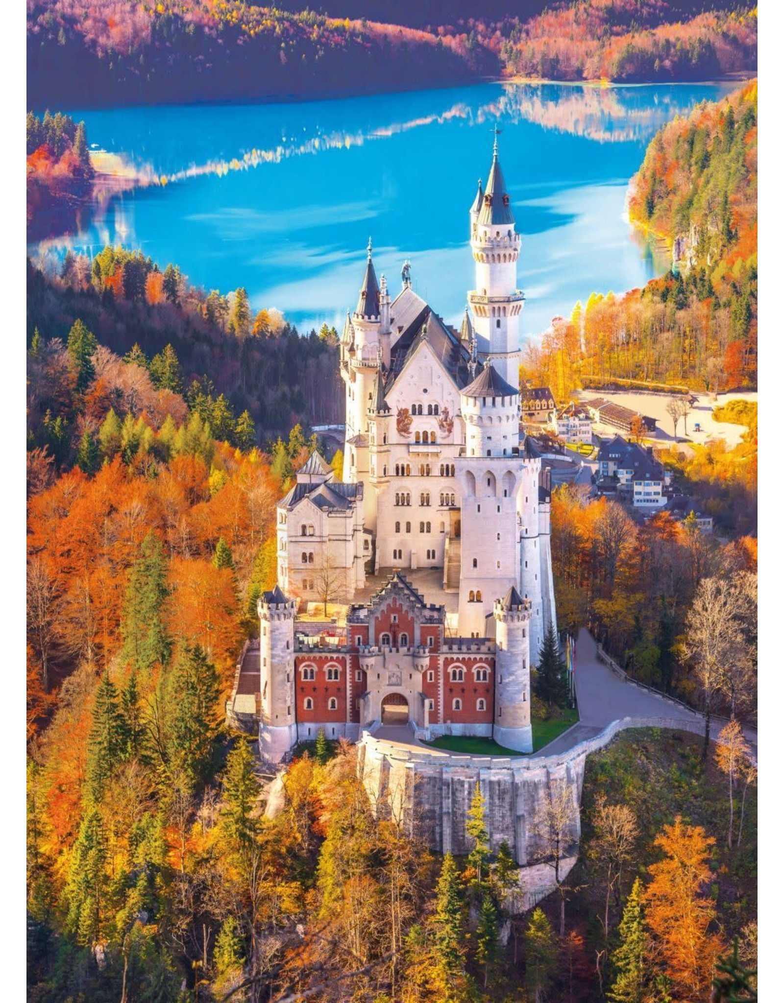 Clementoni Neuschwanstein Castle 1000pc Puzzle