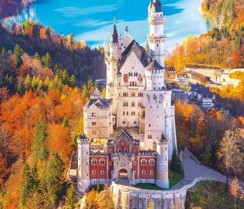 Neuschwanstein Castle 1000pc Puzzle
