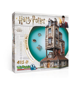 Wrebbit Wrebbit The Burrow Weasley Family Home 3D Puzzle