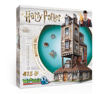 Wrebbit The Burrow Weasley Family Home 3D Puzzle