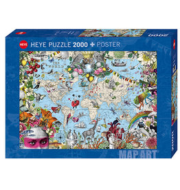 Heye Quirky World 2000pc Puzzle by Pabuku