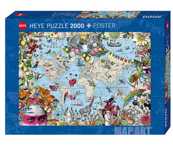 Quirky World 2000pc Puzzle
