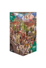 Heye Street Parade 2000pc Puzzle by Gõbel & Knorr