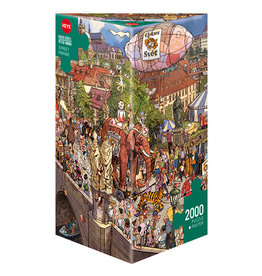 Heye Street Parade 2000pc Puzzle by Gõbel & Knorr