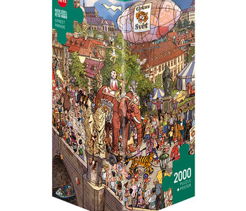 Street Parade 2000pc Puzzle by Gõbel & Knorr