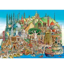 Heye Global City 1500pc Puzzle