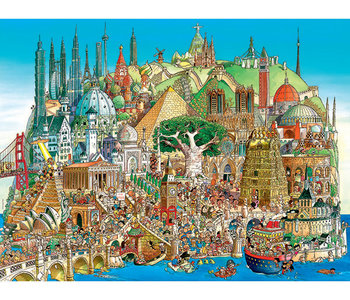 Global City 1500pc Puzzle
