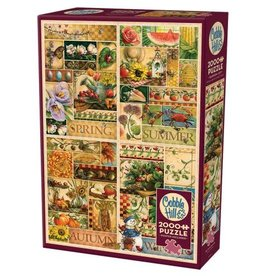 Cobble Hill The Four Seasons 2000pc Puzzle