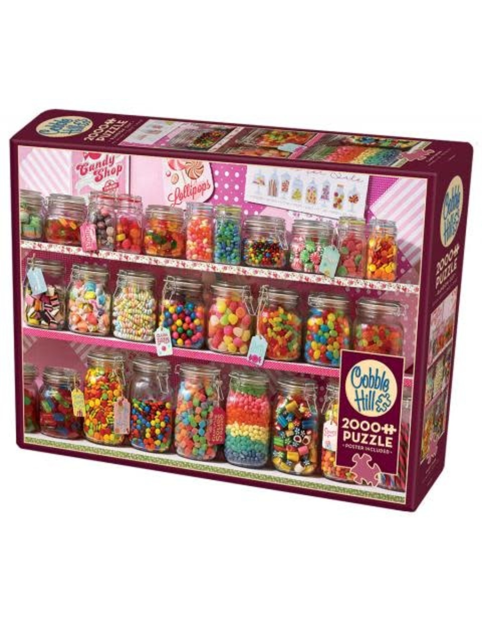 Cobble Hill Candy Store 2000pc Puzzle