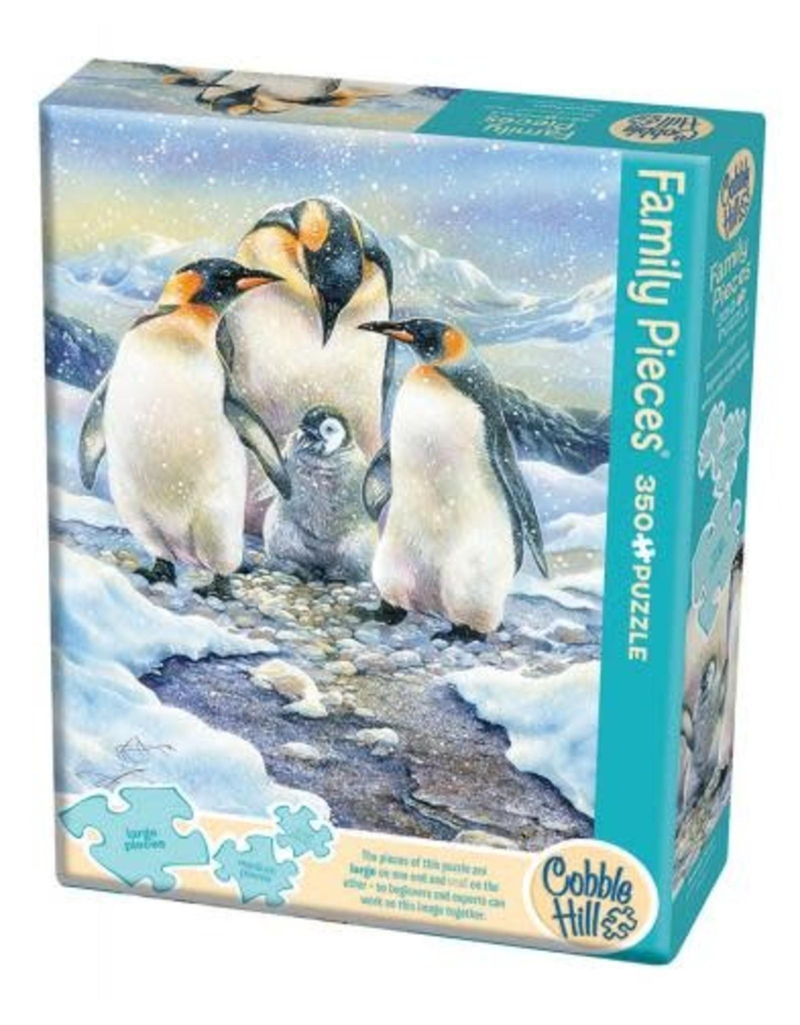 Cobble Hill Penguin Family 350pc Family Puzzle