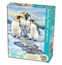 Cobble Hill Penguin Family 350pc Family Puzzle