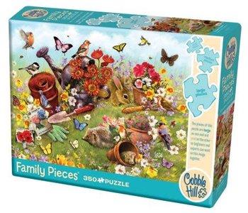 Garden Scene 350pc Family Puzzle