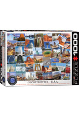 Eurographics Globetrotter USA 1000pc puzzle