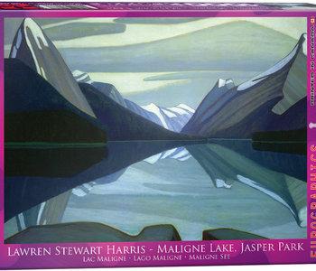 Maligne Lake Jasper Park 1000pc puzzle