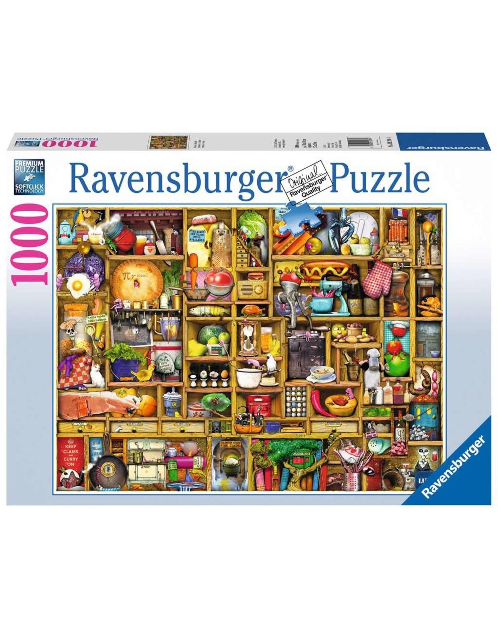 Ravensburger Kitchen Cupboard 1000pc Puzzle