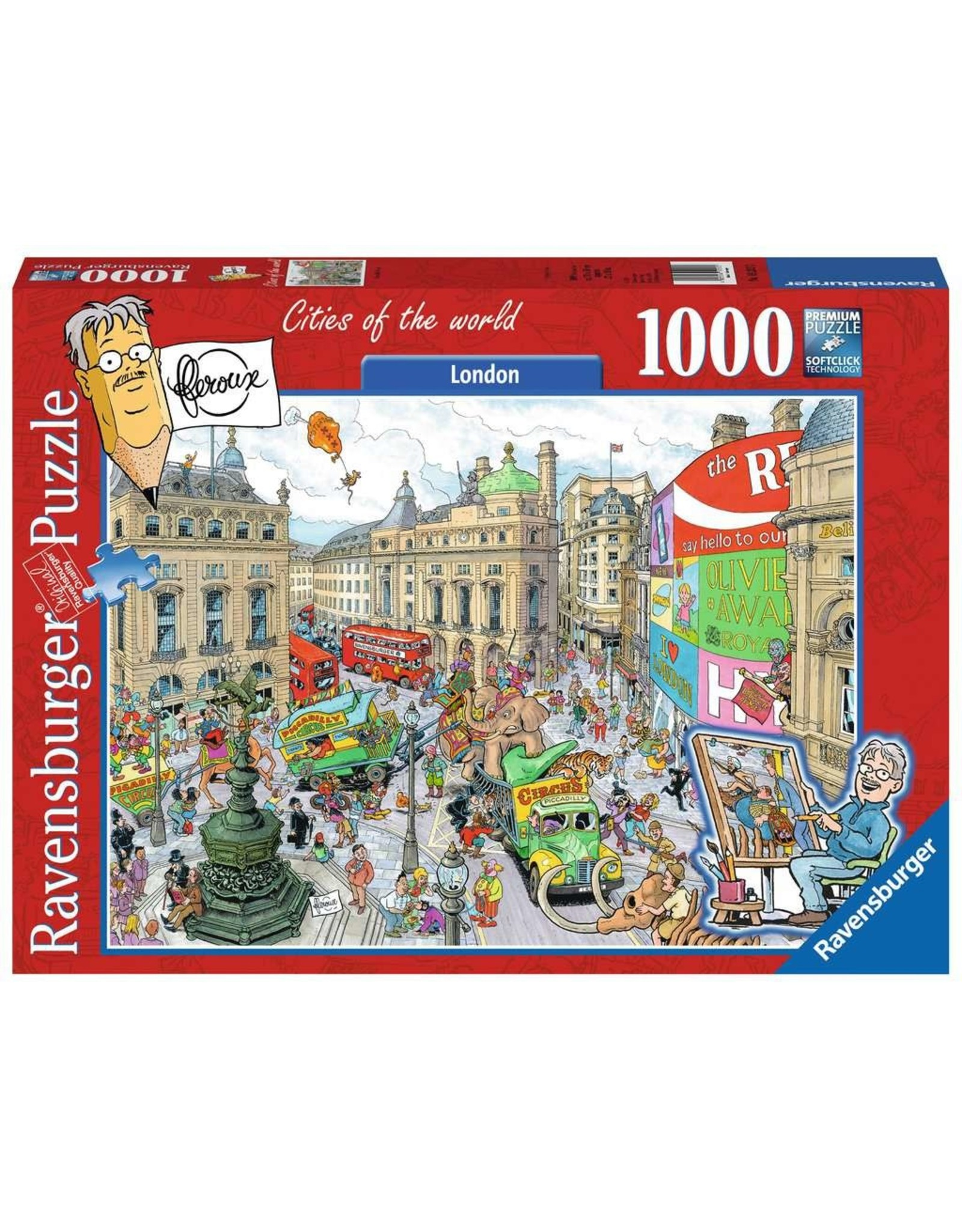 Ravensburger Piccadilly Circus 1000pc Puzzle