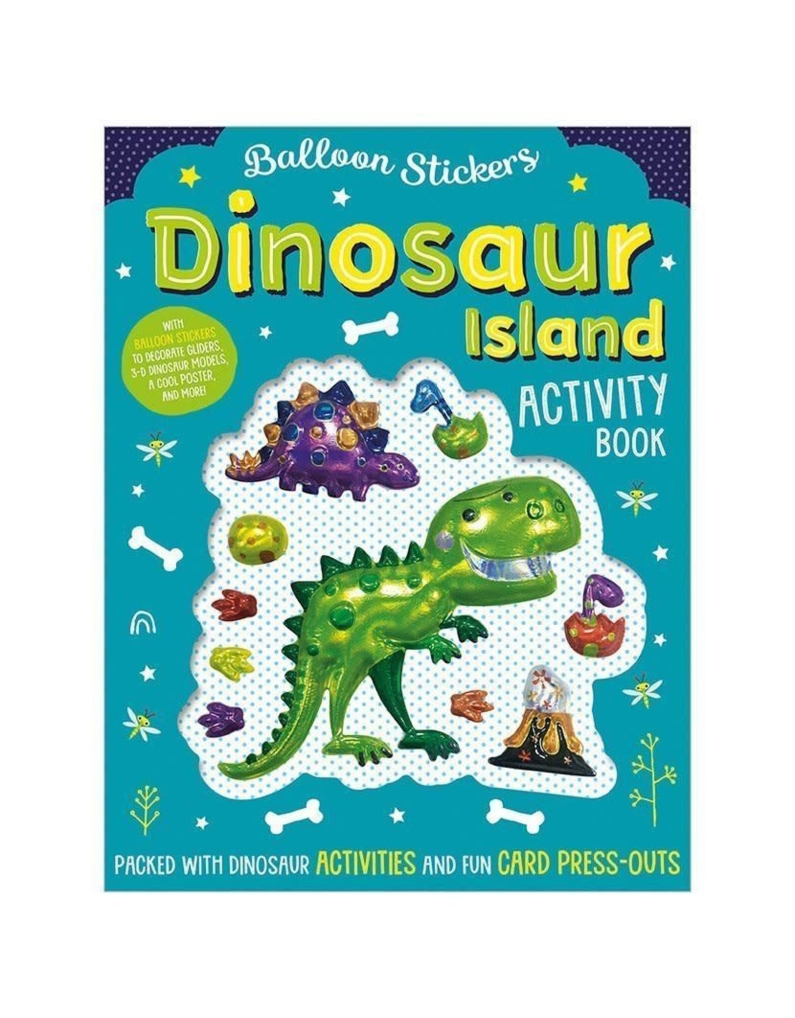 Make Believe Ideas Balloon Stickers: Dinosaur Island Activity Book