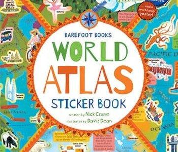 World Atlas Sticker Book