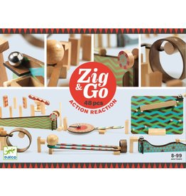 Djeco Zig & Go Chain Reactions 48pc