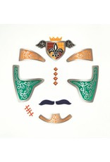 Djeco Knights Face Stickers