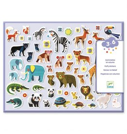 Djeco Mothers & Babies Puffy Stickers