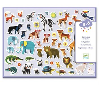 Mothers & Babies Puffy Stickers
