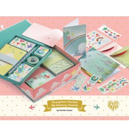 Djeco My Stationery Set, Charlotte