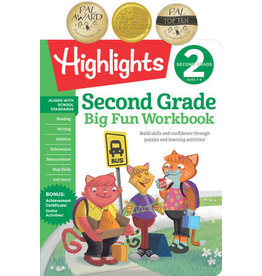 Highlights Second Grade Big Fun Workbook