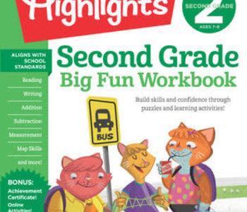 Second Grade Big Fun Workbook
