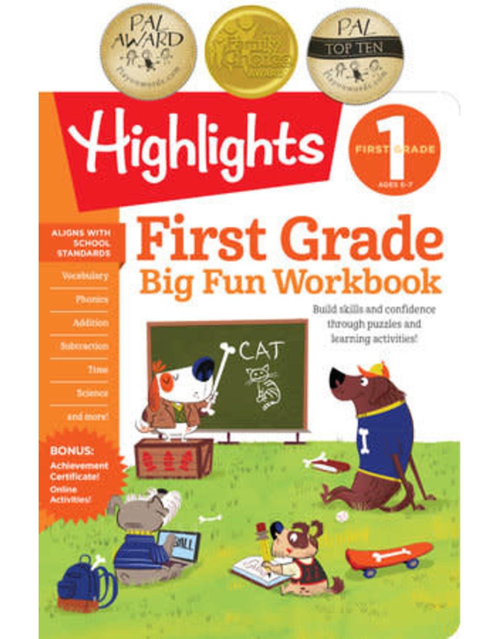Highlights First Grade Big Fun Workbook
