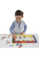 Melissa & Doug Magnetic Chalk Board & Dry Erase Board