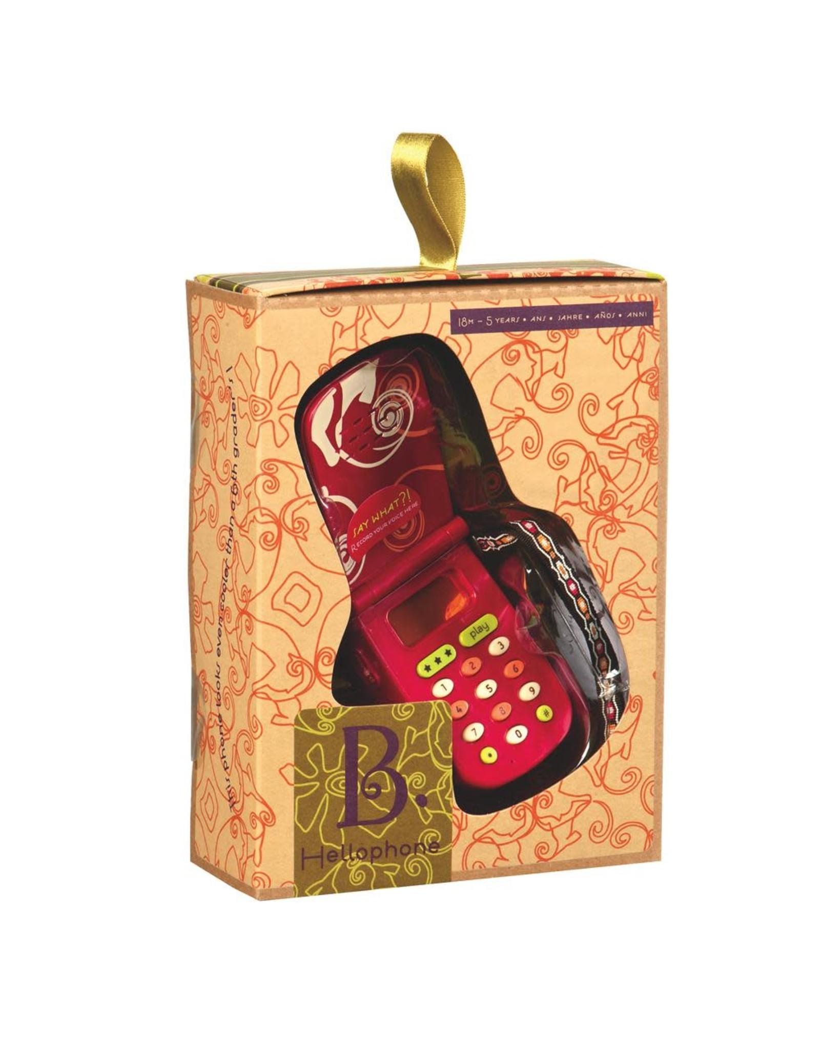 B. B. Hellophone