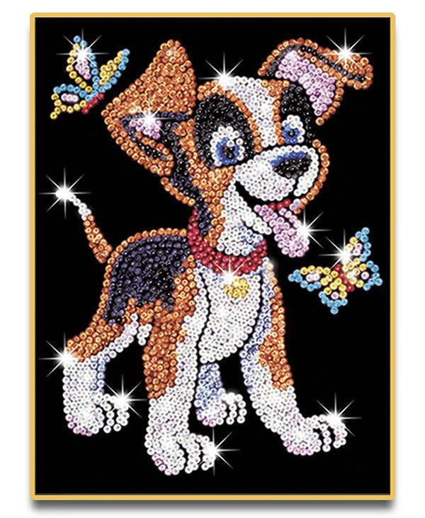 Sequin Art Puppy