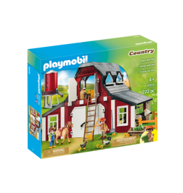 Playmobil Barn with Silo