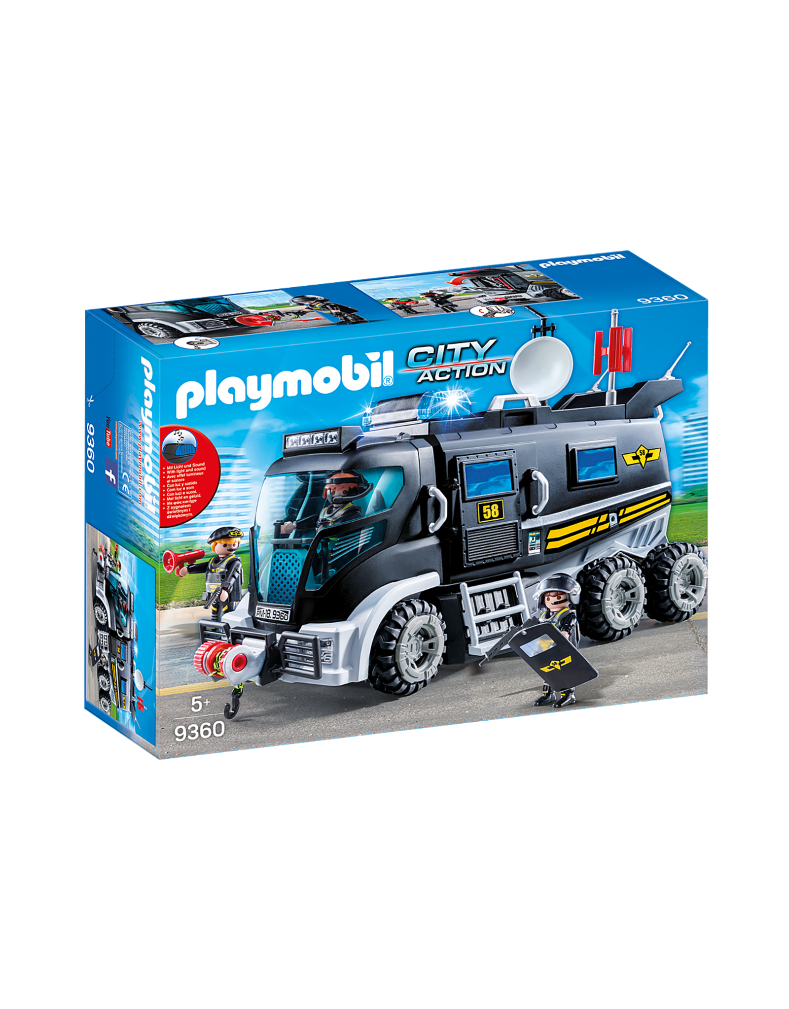 Playmobil: Tactical Unit Truck
