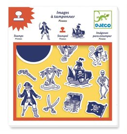 Djeco Pirates Stamps