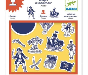 Pirates Stamps
