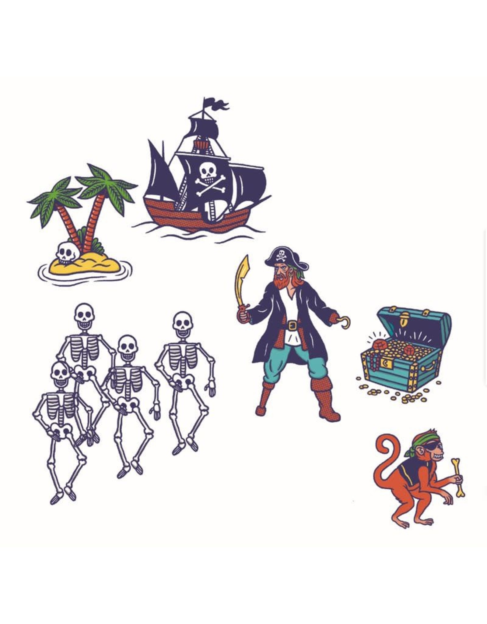 Djeco Pirates Stamps