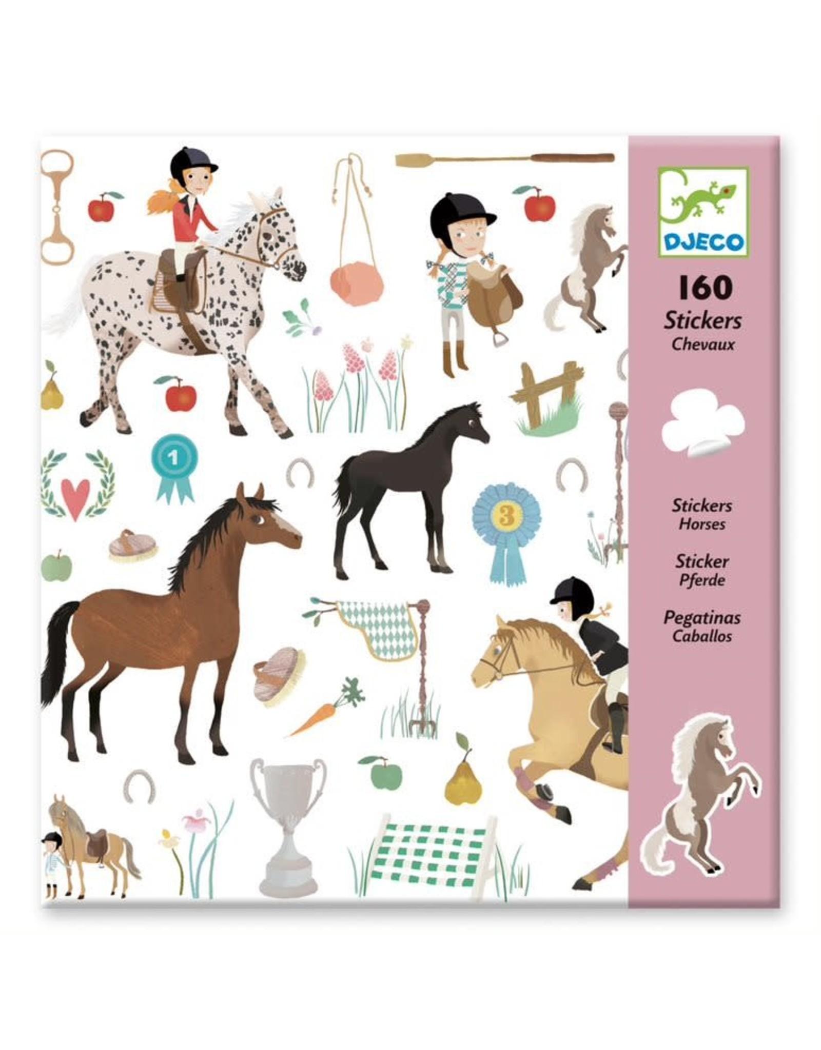 Djeco Horse Stickers