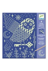Djeco Scratch Cards At Night