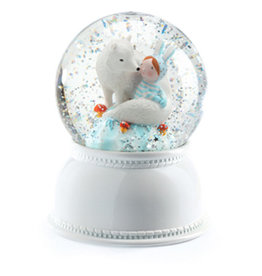 Djeco Snow ball Night Light Lila & Pupi