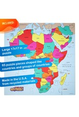 Geo Toys Geo Puzzle Africa & Middle East 65pc Puzzle