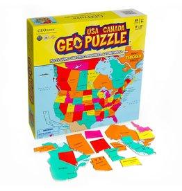 Geo Toys Geo USA & Canada 69pc Puzzle