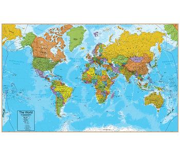Hemispheres World Map interactive