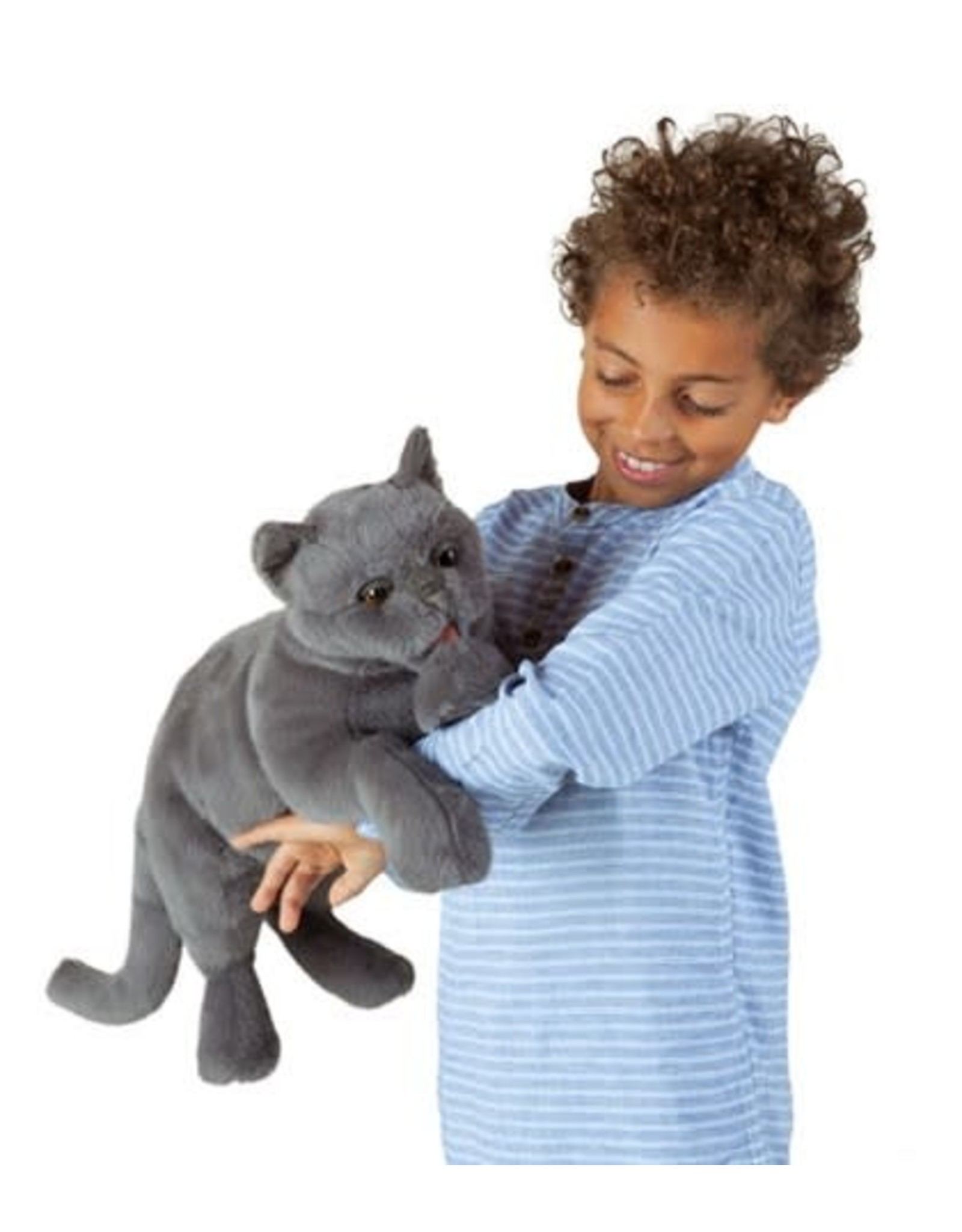 Folkmanis Purring Cat Puppet